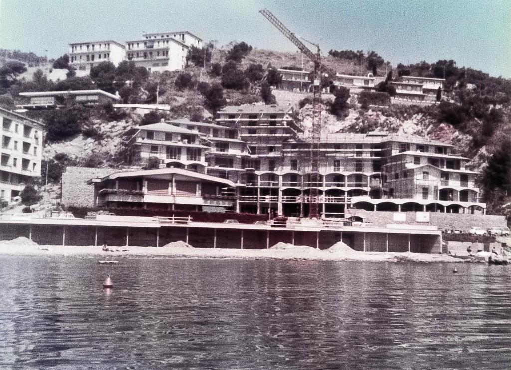 """Portovenere, 1971: stabilimento """"Sporting Beach"""""""
