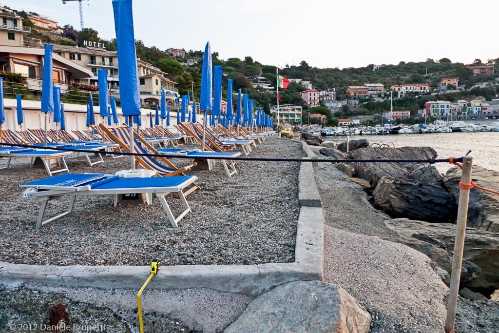 """Portovenere, 2012: stabilimento """"Sporting Beach"""""""