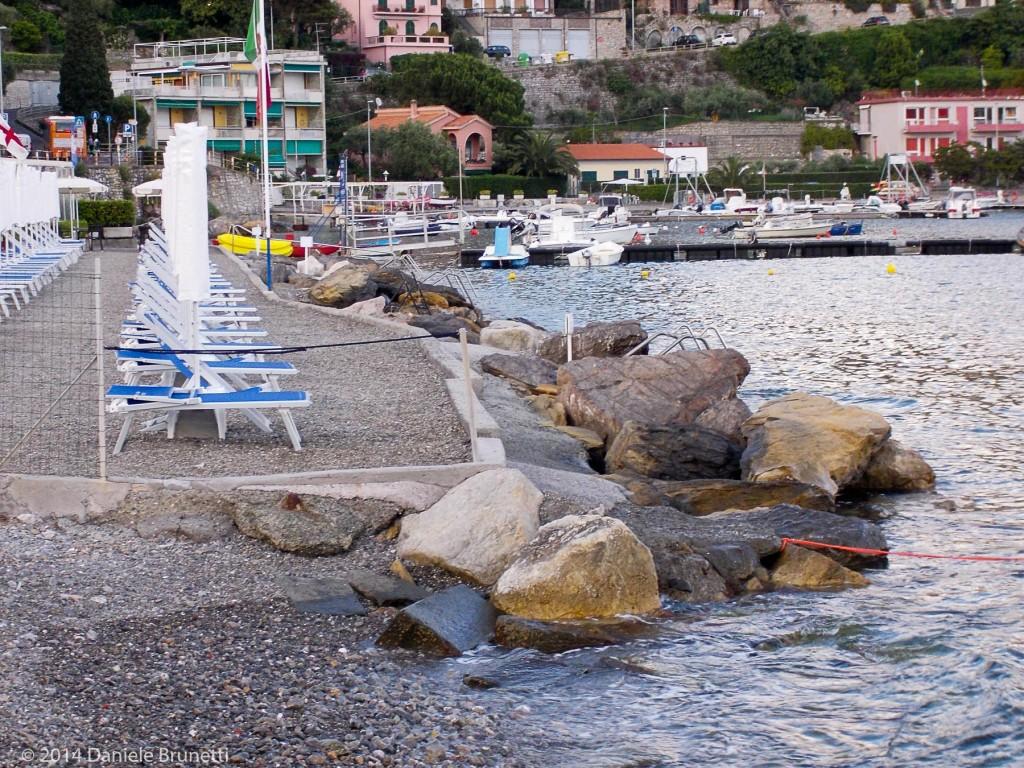 """Portovenere, 2014: stabilimento """"Sporting Beach"""""""