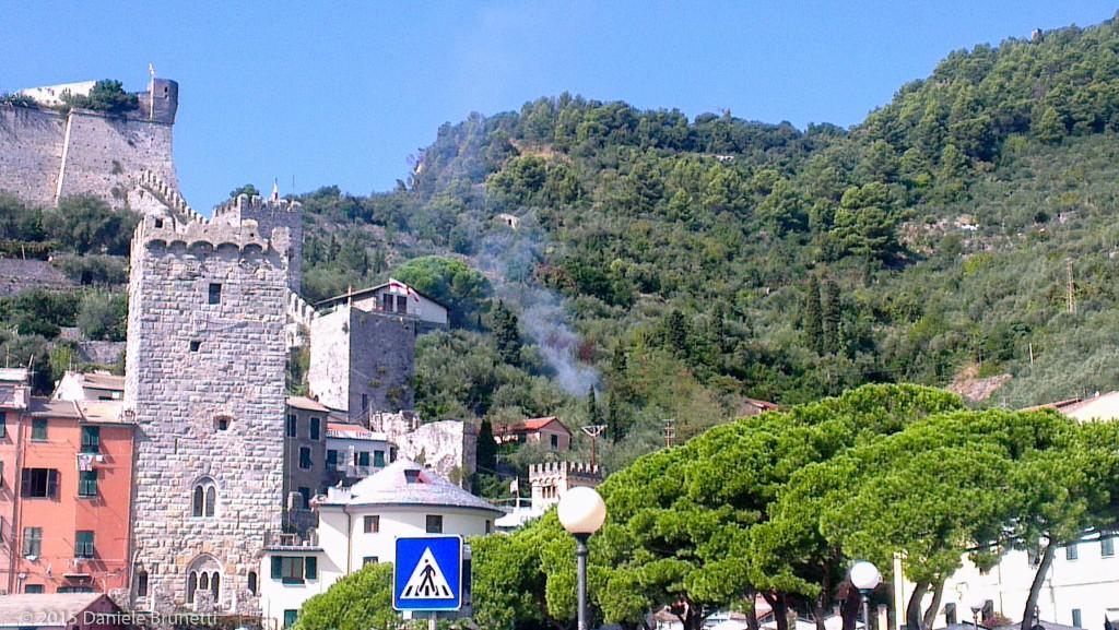 Recenti abbruciamenti sulle alture di Portovenere (SP)
