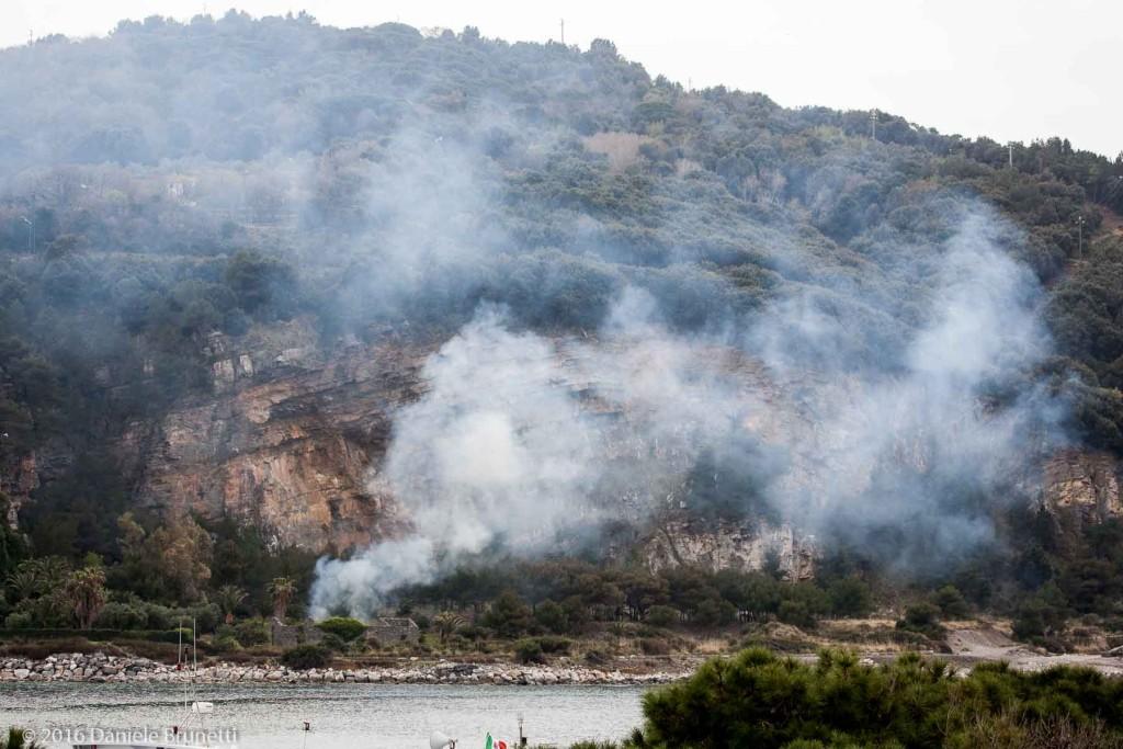 30.03.16, Portovenere (SP): smaltimento rifiuti