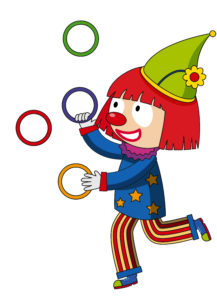 <a href='https://www.freepik.com/free-vector/happy-clown-juggling-rings_1624977.htm'>Designed by Freepik</a>